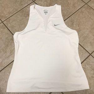 White Nike Tank Top